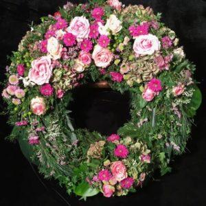 Trauerkranz Blumen Flaschka